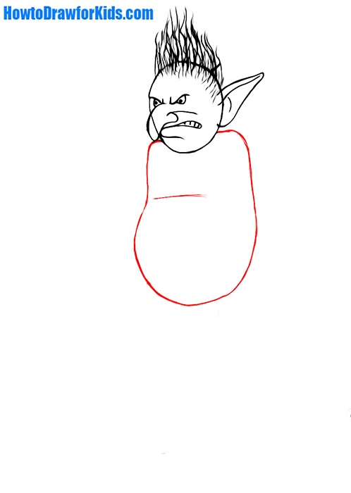 learn to draw a troll for beginners
