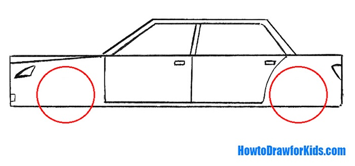 How to Draw a Car for children