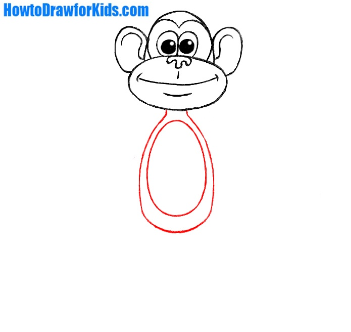 how to draw a monkey for everyone