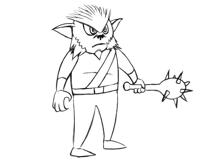 bugbear drawing
