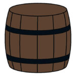 How to Draw a Barrel for Kids