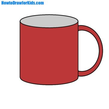 How to Draw a Mug For Kids