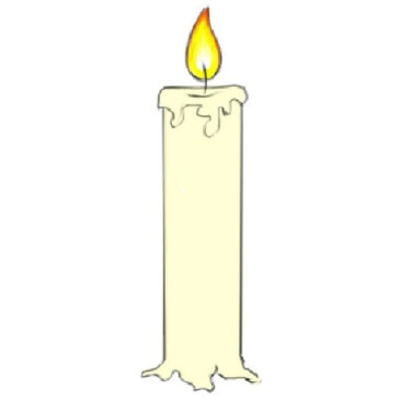 How to Draw a Candle for Kids
