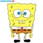 How to draw Spongebob Squarepants for kids