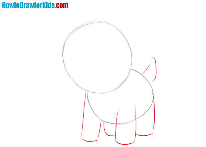 learn how to draw a Goat for kids