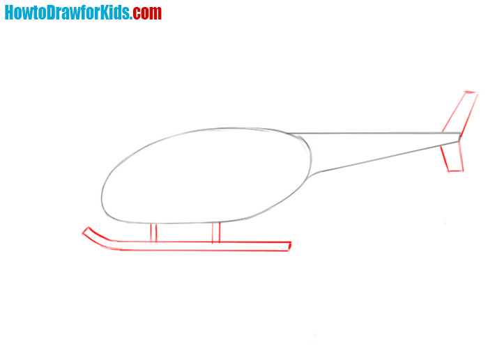 Helicopter drawing lesson
