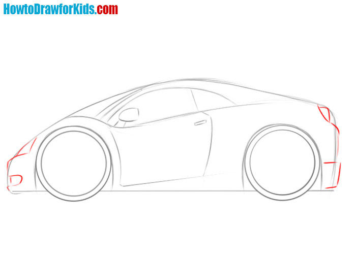 learn how to draw a car