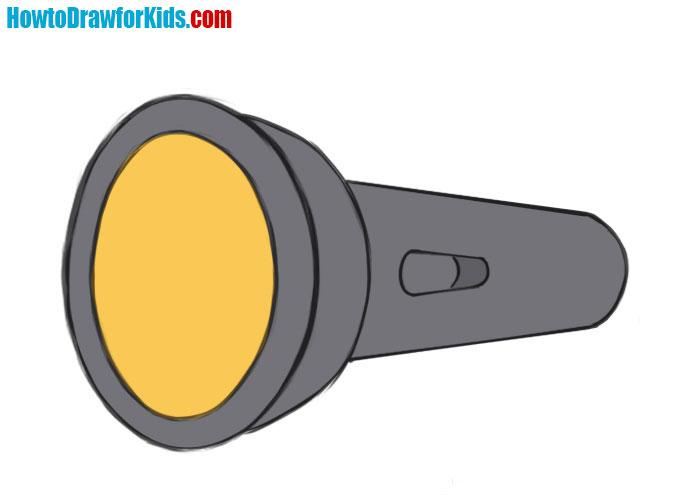 Flashlight drawing