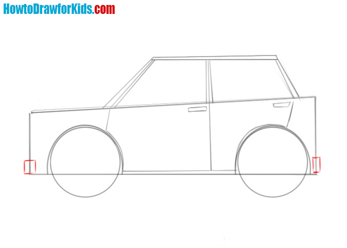 easy how to draw a car