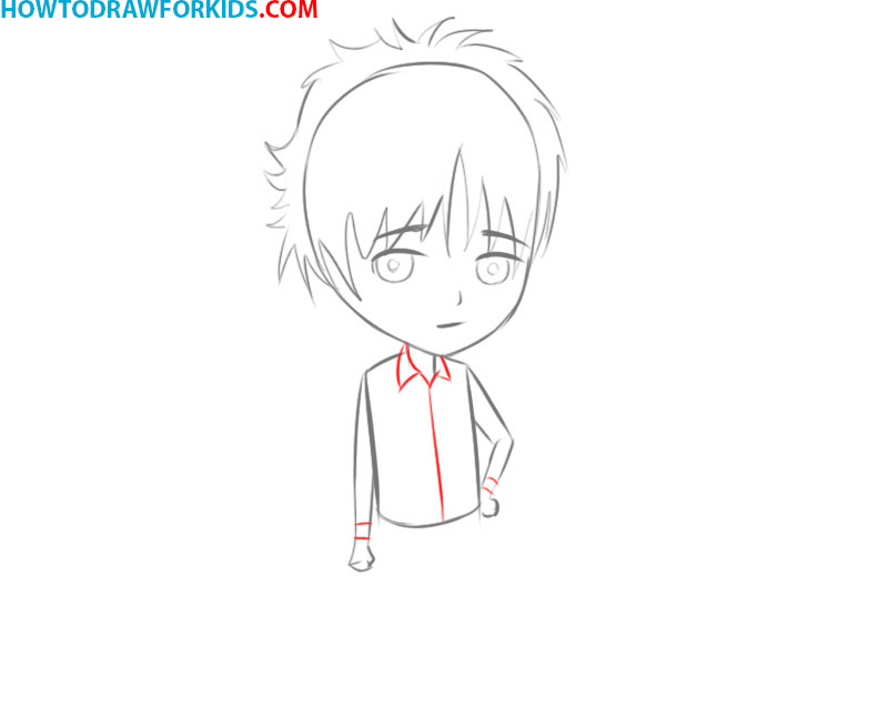 how to draw manga body