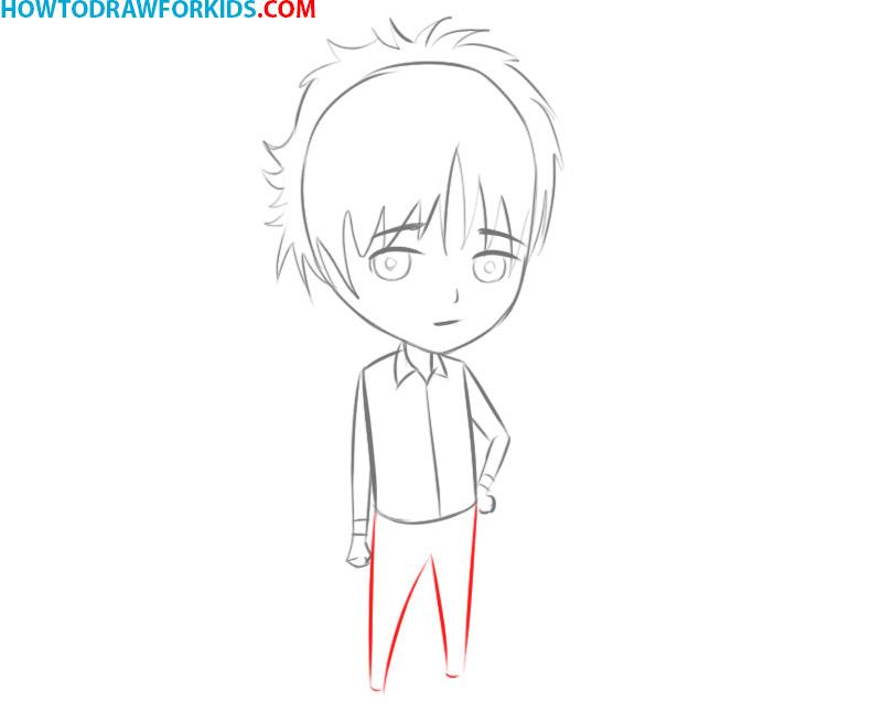 how to draw manga characters easy