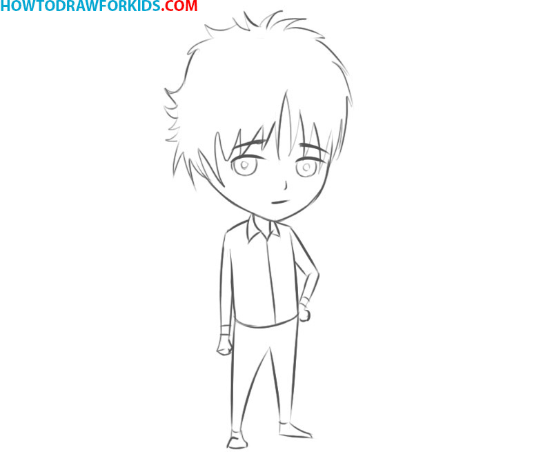 how to draw Manga easy