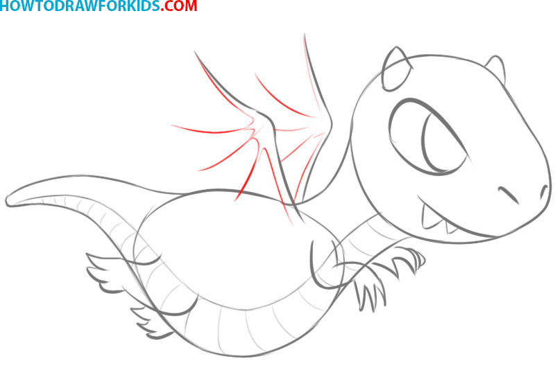 how to draw a dragon easy step by step