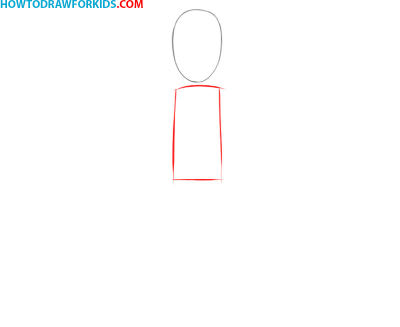 how to draw a person easy step by step