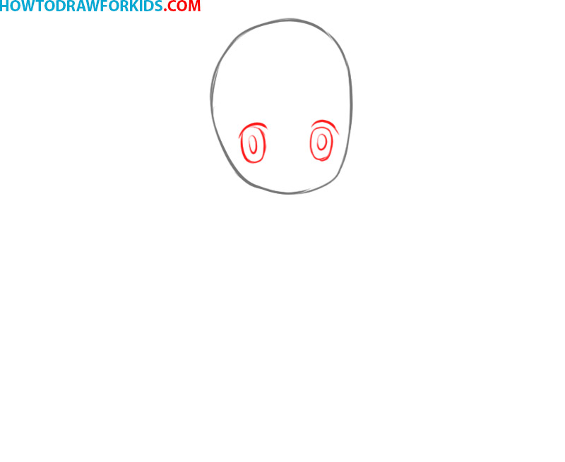 how to draw anime girl easy