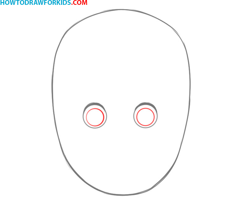 how to draw a face basic