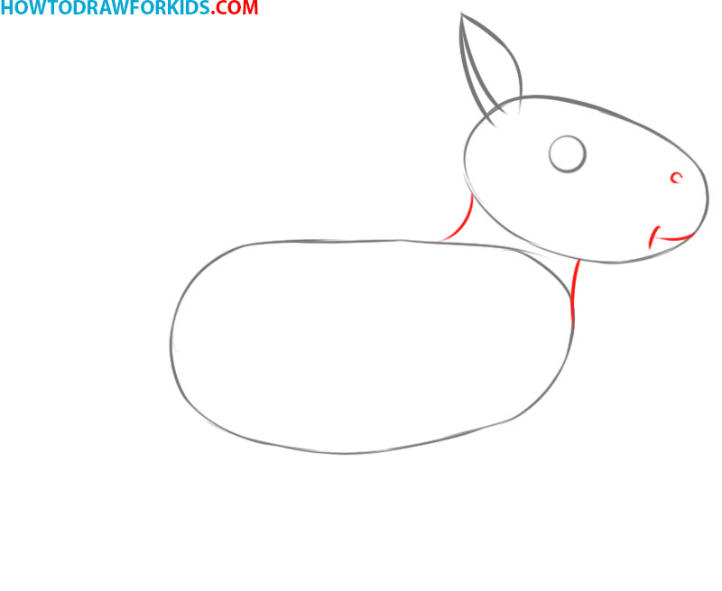 how to draw a horse cartoon
