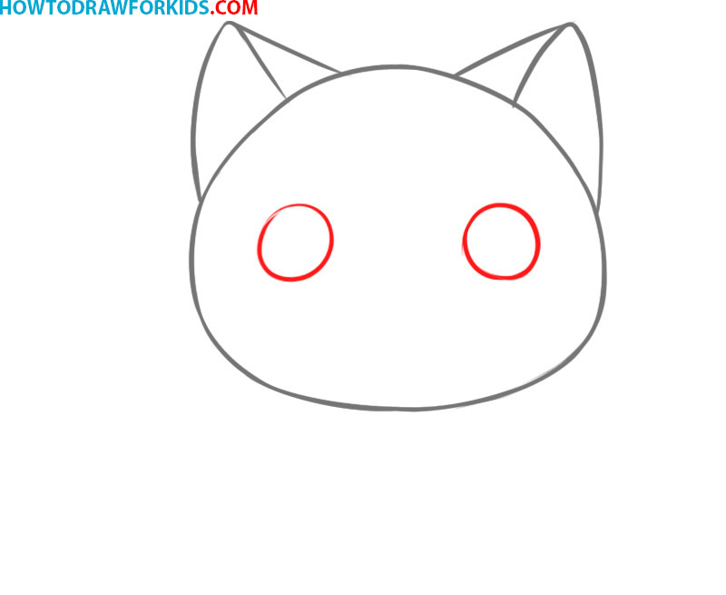 how to draw a cat very easy drawing tutorial