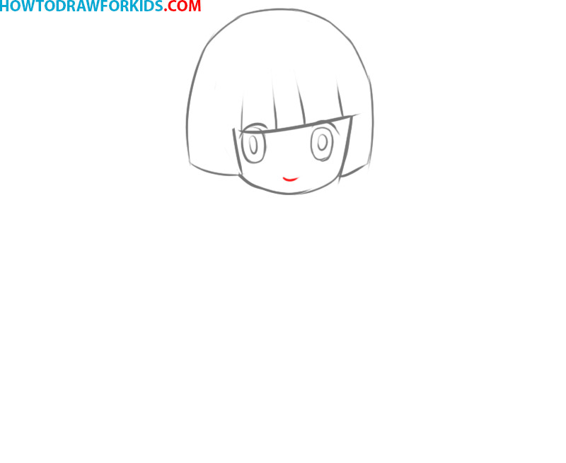 how to draw anime girl body