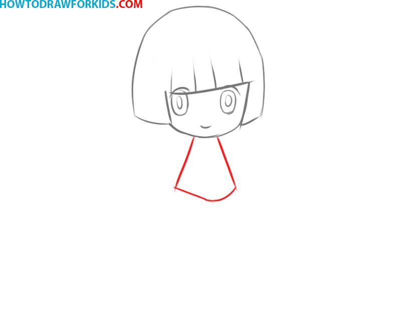 how to draw anime female body