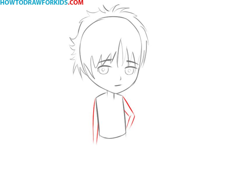 how to draw manga eyes male