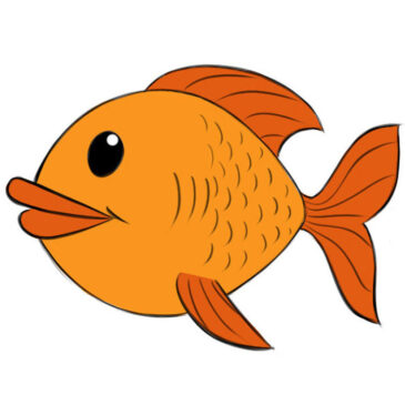How to Draw a Fish Easy