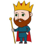 How to Draw a King for Kids