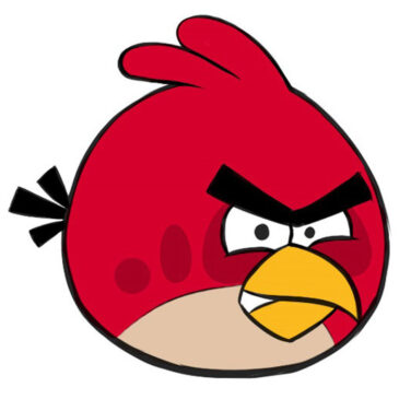 How to Draw an Angry Bird for Kids