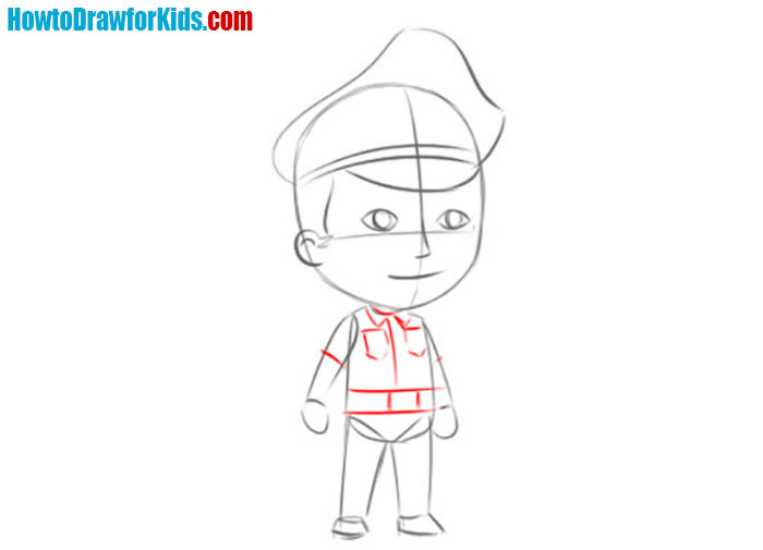Police officer art