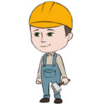 How to Draw a Builder for Kids