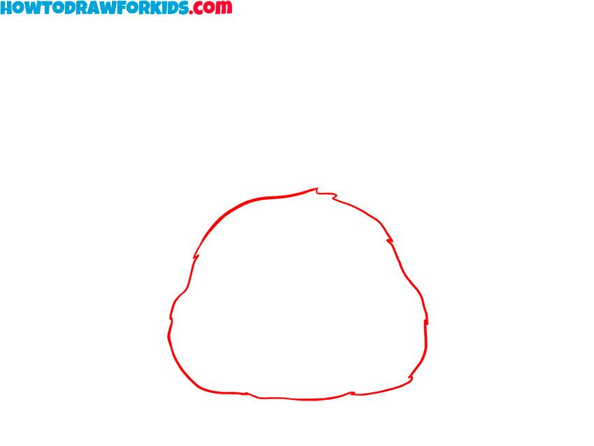 bunny face drawing tutorial