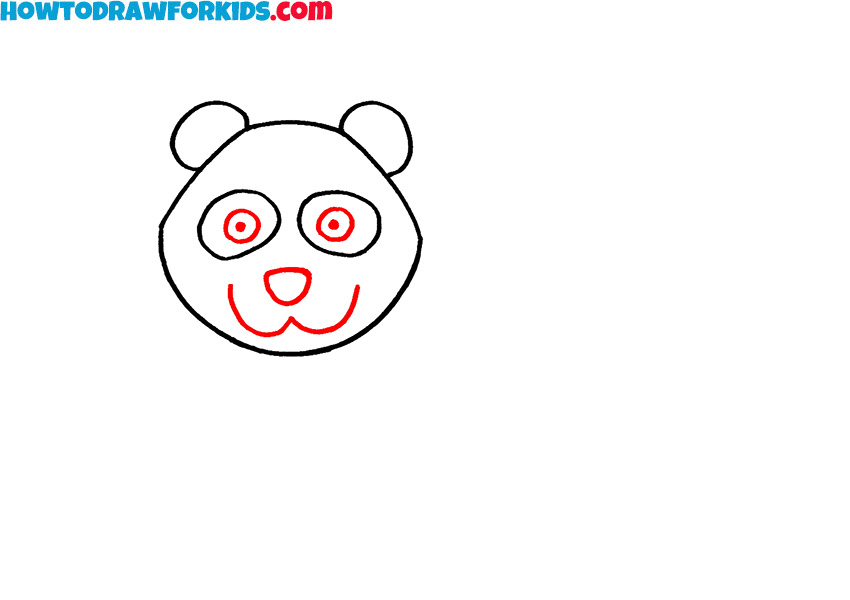 3 how to draw a panda for kids