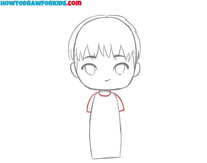 boy drawing tutorial