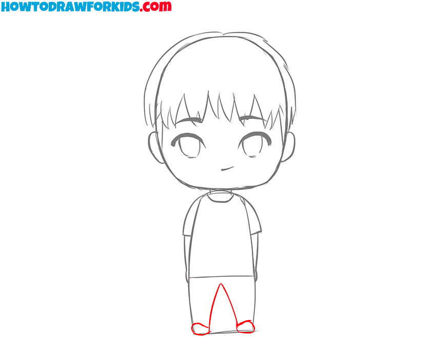 how to draw a boy easy