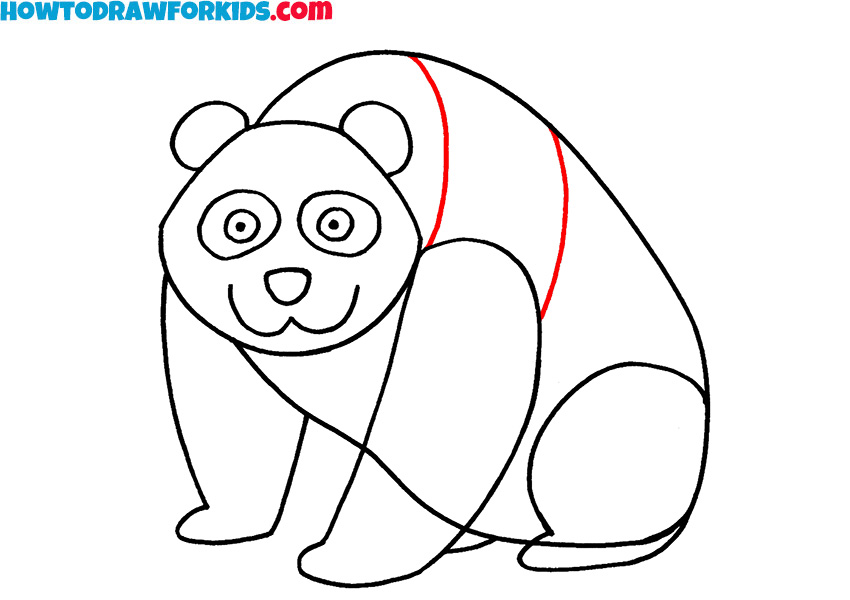 7 how to draw a panda for kids