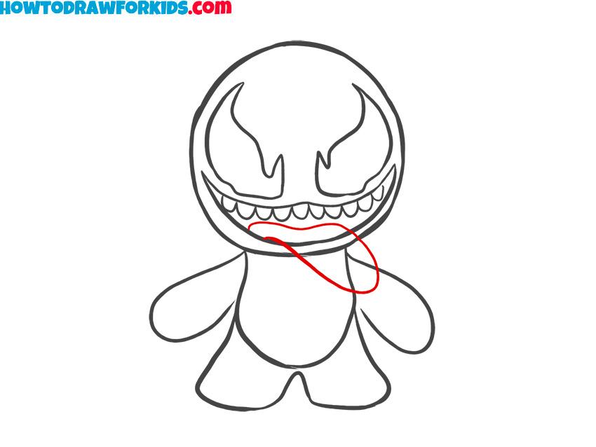 8 venom drawing
