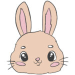 How to Draw a Bunny Face