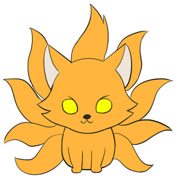 How to Draw a Nine-Tailed Fox