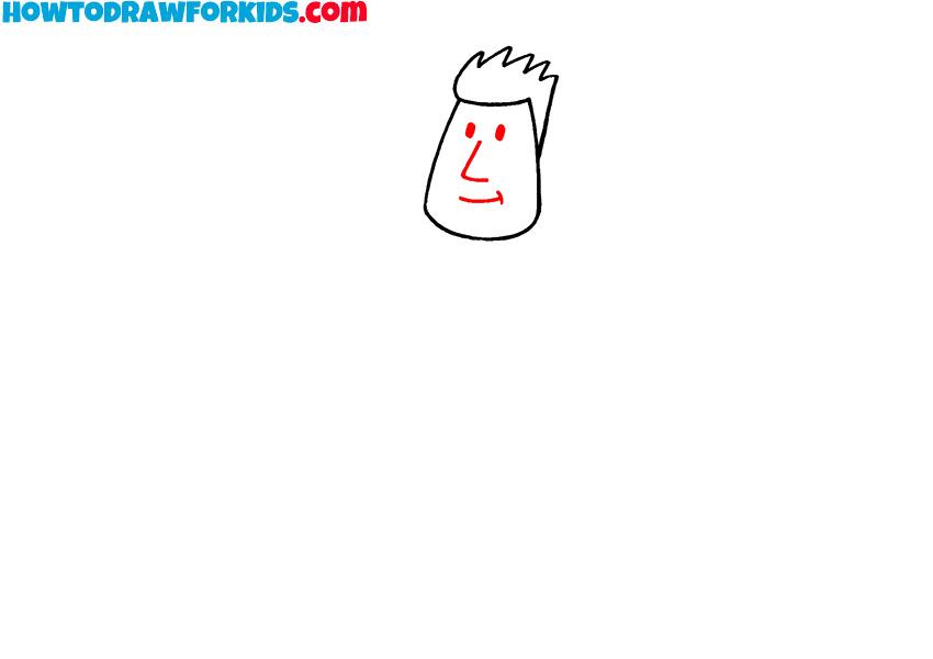 human drawing easy