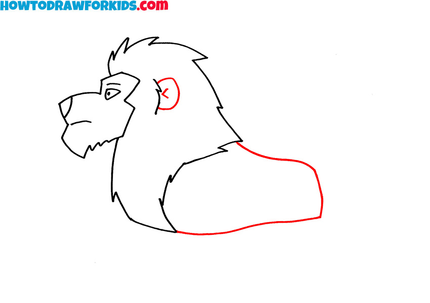 4 how to draw a lion for kids