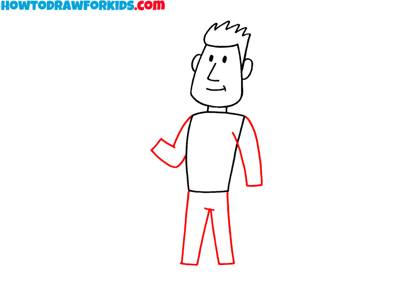 how to draw a human figure