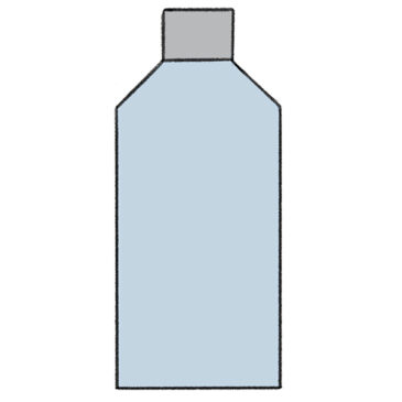 How to Draw a Bottle of Water for Kindergarten