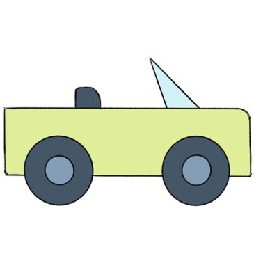 How to Draw a Car for Kindergarten