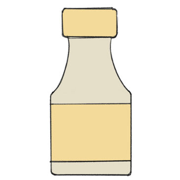 How to Draw a Bottle for Kindergarten
