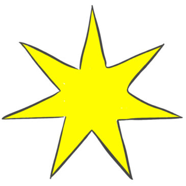 How to Draw a Seven-Pointed Star