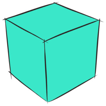 How to Draw a Simple Cube