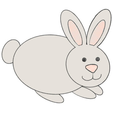 How to Draw a Bunny for Kindergarten