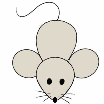 How to Draw a Mouse for Kindergarten