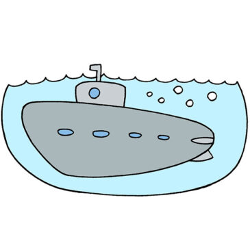 How to Draw a Submarine